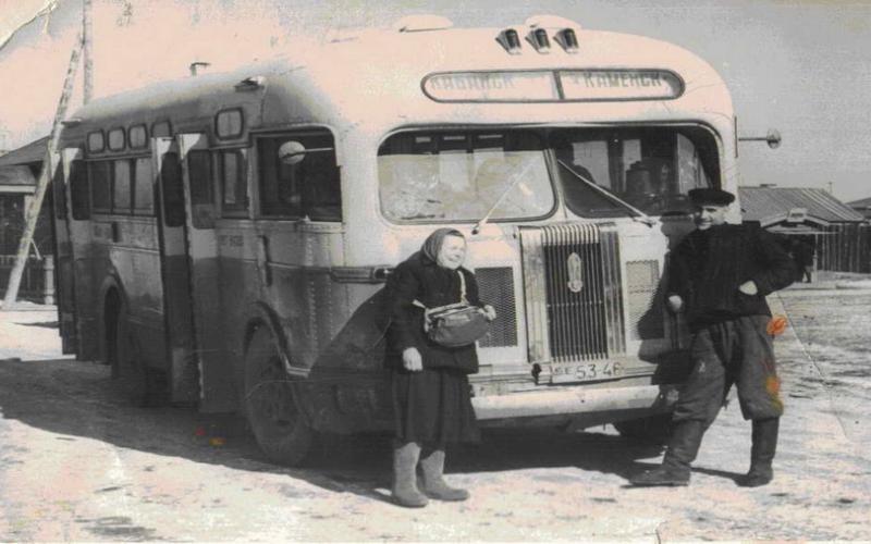 Автобус Кабанск-Каменск